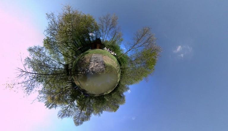 Petite planète de l'étang