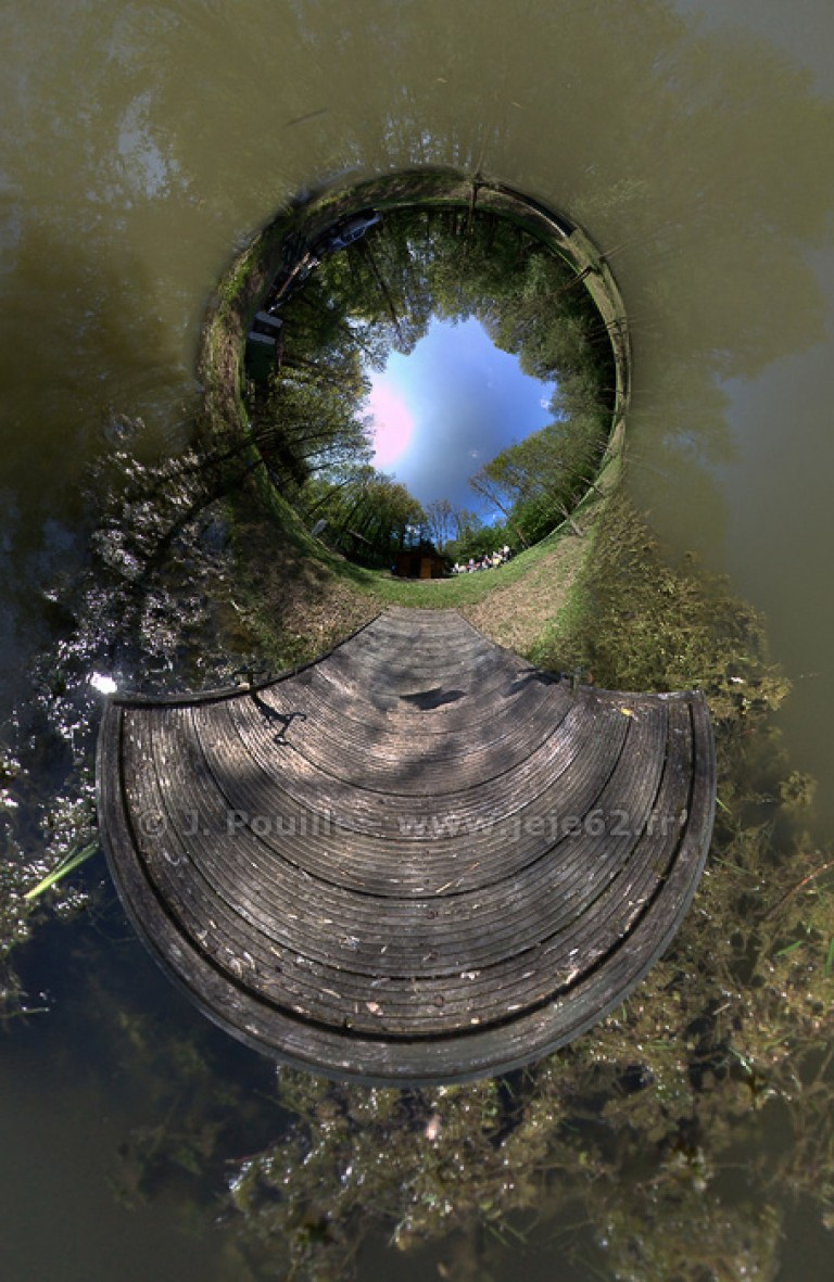 Petite planète de l'étang – 2