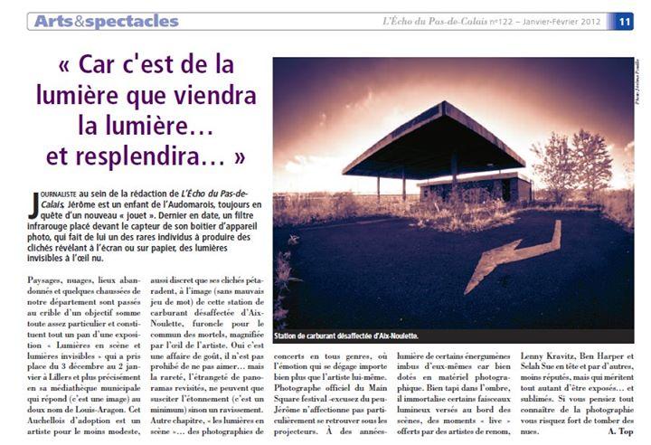 L'Écho du Pas-de-Calais n°122 - janvier-Février 2012