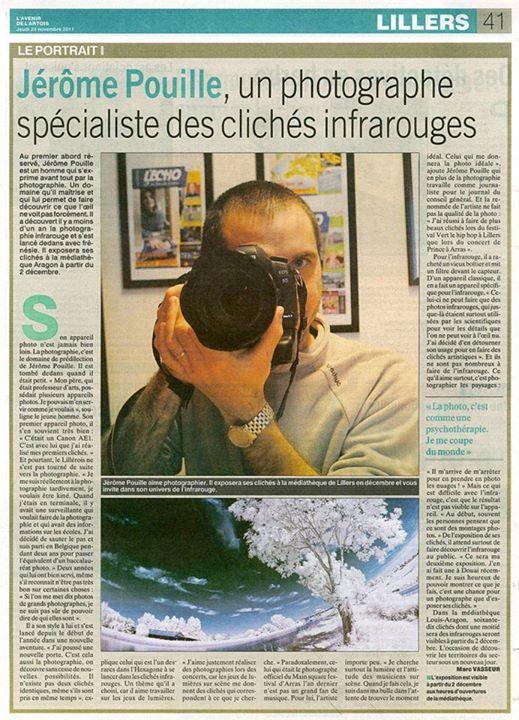 L'avenir de L'Artois, n°47, édition du 24 novembre 2011
