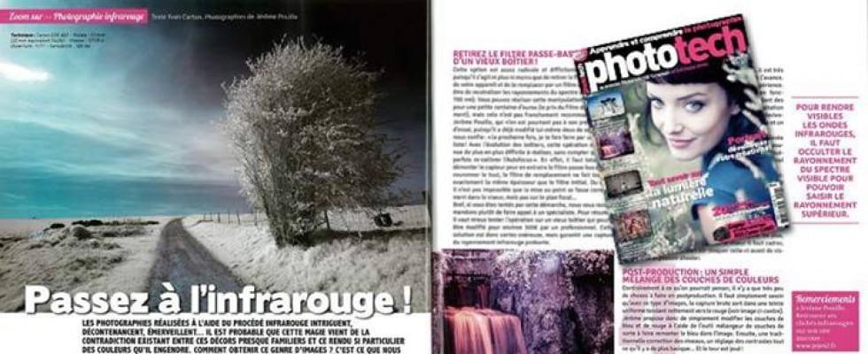 Un dossier sur l'infrarouge dans lemagazine Phototech n°26 Juin/juillet 2013