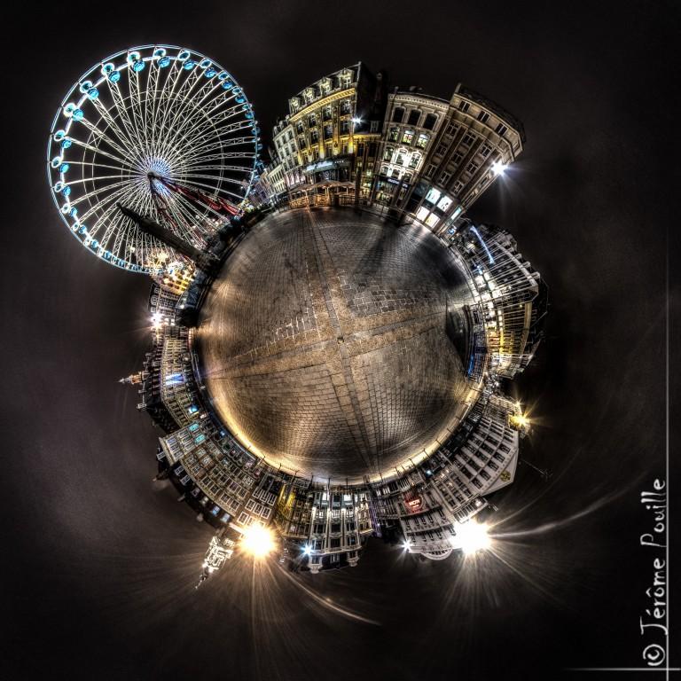 Petite planète de la grande Roue, place de Lille janvier 2013