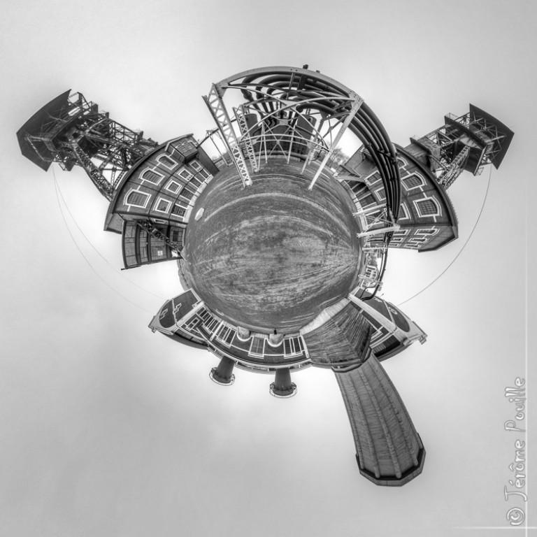 Petite planète du site 9-9Bis / Oignies