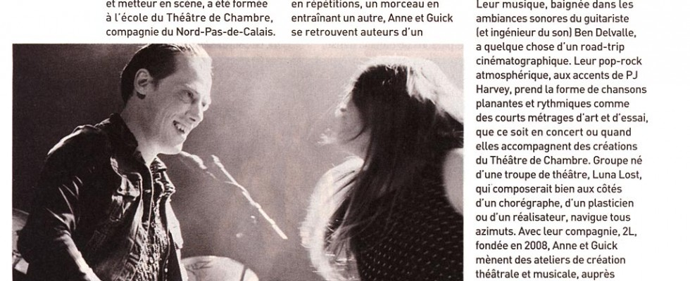 Une photo d'illustration d'un article sur le groupe régional Luna Lost