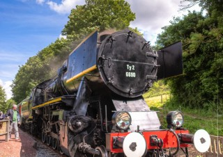 Train Touristique à vapeur de la vallée de l'Aa