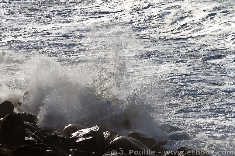 Tempête Joachim sur la côte d'Opale en décembre 2011-17