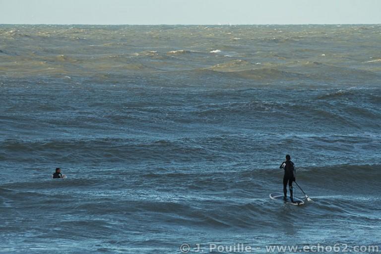 Tempête Joachim sur la côte d'Opale en décembre 2011-19