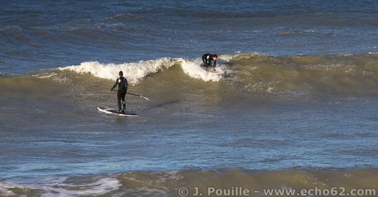 Tempête Joachim sur la côte d'Opale en décembre 2011-20