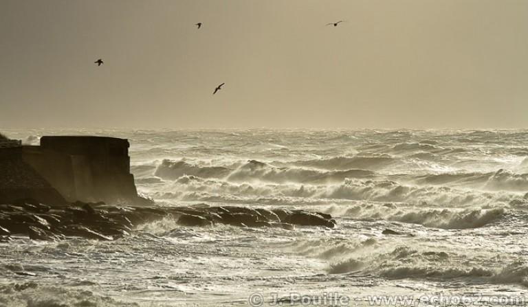 Tempête Joachim sur la côte d'Opale en décembre 2011-25