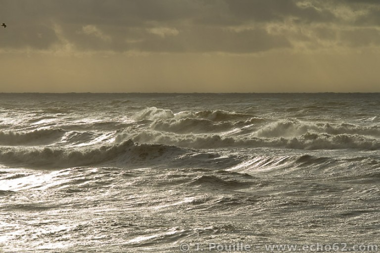 Tempête Joachim sur la côte d'Opale en décembre 2011-26