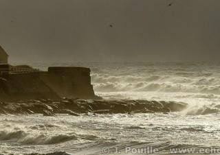 Tempête Joachim sur la côte d'Opale en décembre 2011-28