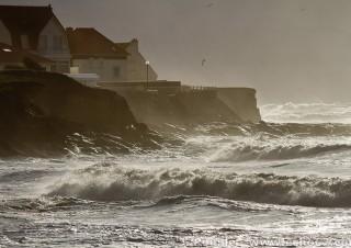 Tempête Joachim sur la côte d'Opale en décembre 2011-29