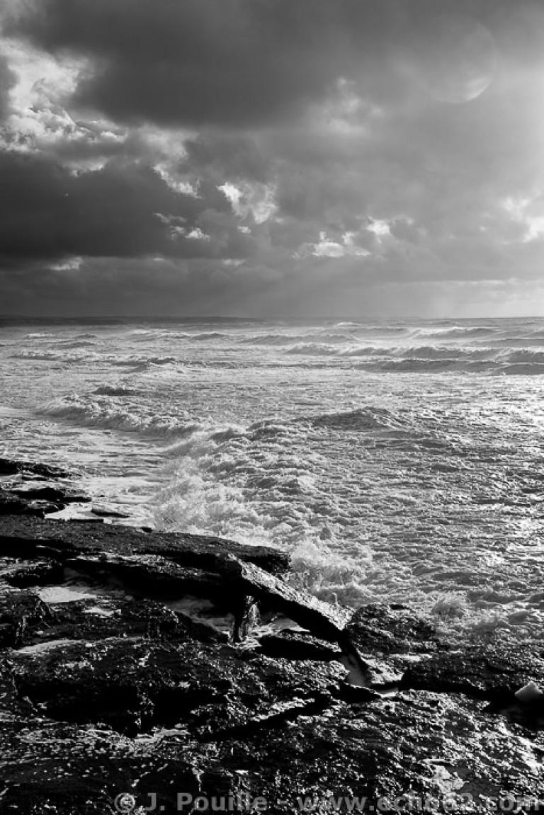 Tempête Joachim sur la côte d'Opale en décembre 2011-30