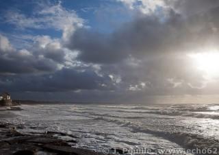 Tempête Joachim sur la côte d'Opale en décembre 2011-31