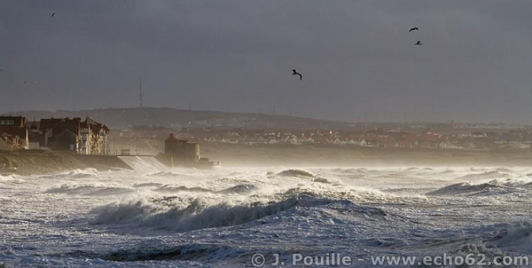 Tempête Joachim sur la côte d'Opale en décembre 2011-34