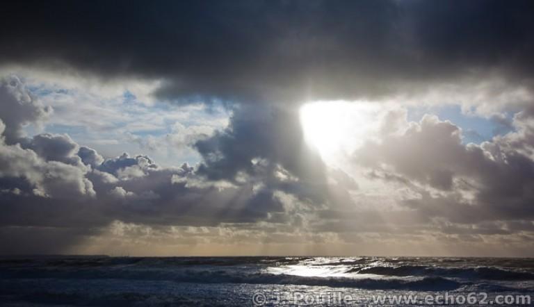 Tempête Joachim sur la côte d'Opale en décembre 2011-35