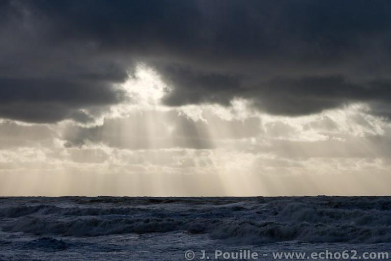 Tempête Joachim sur la côte d'Opale en décembre 2011-37