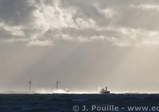 Tempête Joachim sur la côte d'Opale en décembre 2011-38