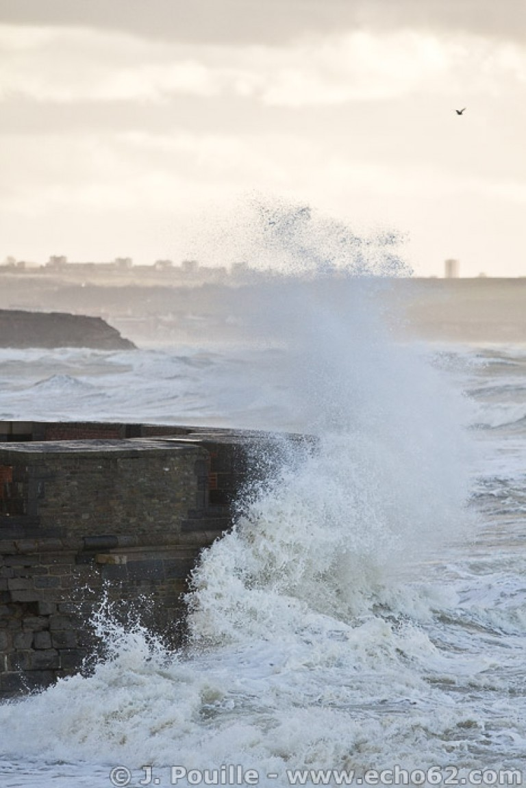 Tempête Joachim sur la côte d'Opale en décembre 2011-39