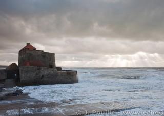 Tempête Joachim sur la côte d'Opale en décembre 2011-40