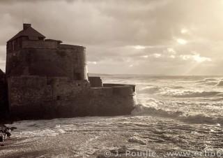 Tempête Joachim sur la côte d'Opale en décembre 2011-41