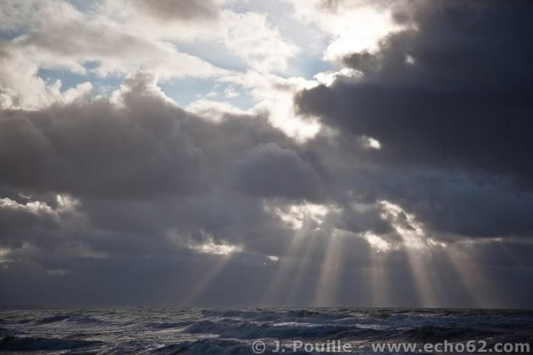Tempête Joachim sur la côte d'Opale en décembre 2011-42