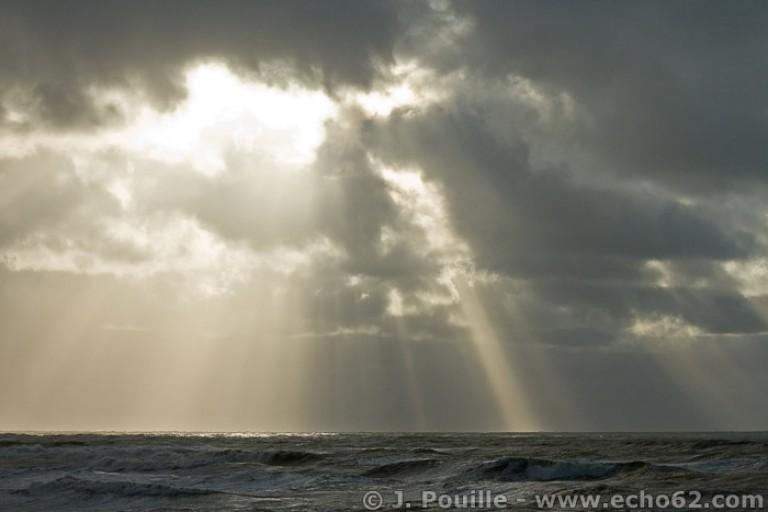 Tempête Joachim sur la côte d'Opale en décembre 2011-44