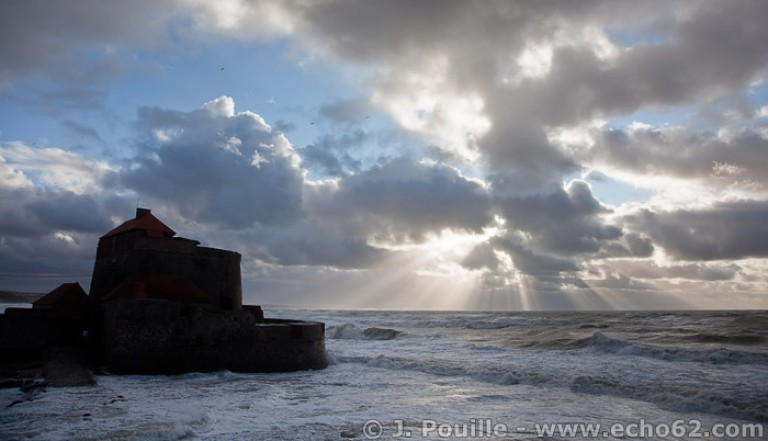 Tempête Joachim sur la côte d'Opale en décembre 2011-45