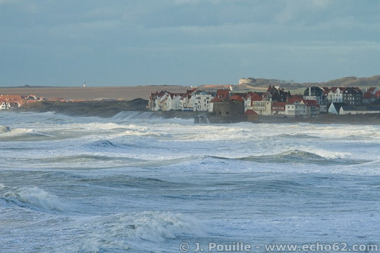 Tempête Joachim sur la côte d'Opale en décembre 2011-3