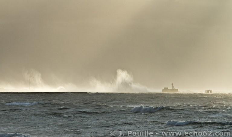 Tempête Joachim sur la côte d'Opale en décembre 2011-4