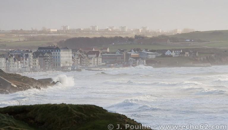 Tempête Joachim sur la côte d'Opale en décembre 2011-5