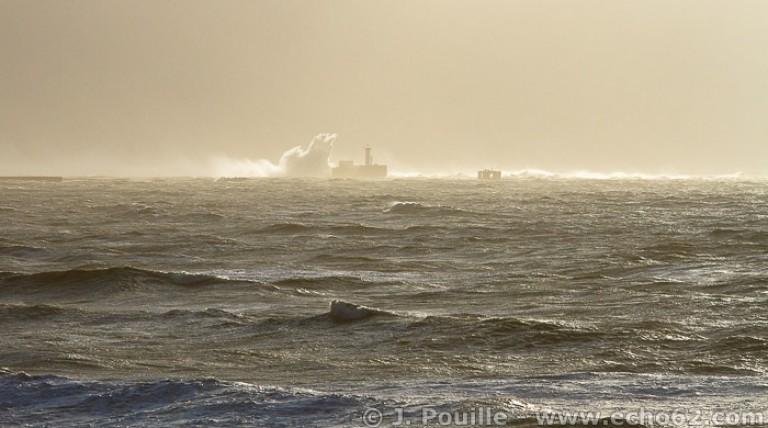Tempête Joachim sur la côte d'Opale en décembre 2011-6