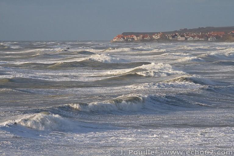 Tempête Joachim sur la côte d'Opale en décembre 2011-7