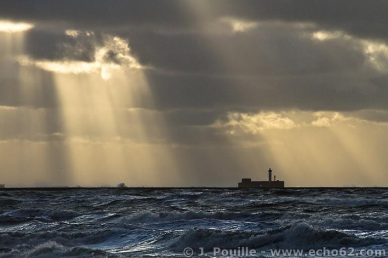 Tempête Joachim sur la côte d'Opale en décembre 2011-9