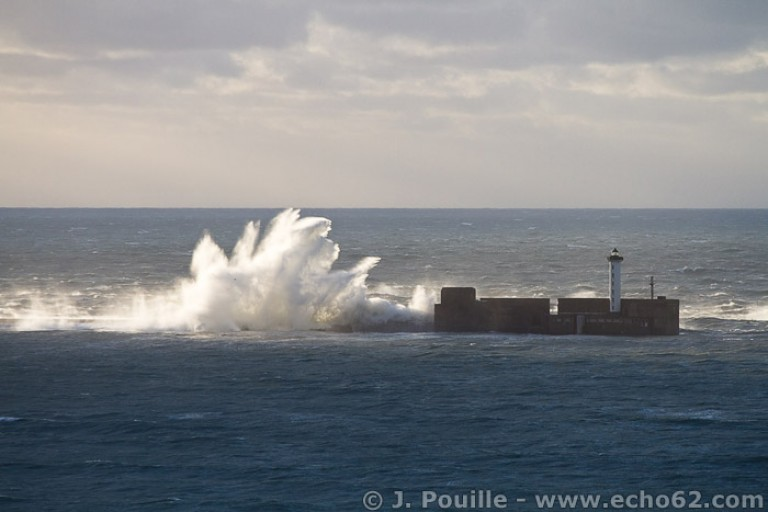 Tempête Joachim sur la côte d'Opale en décembre 2011-14