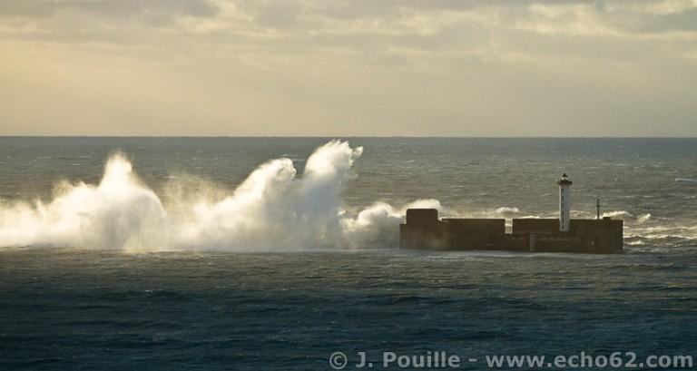 Tempête Joachim sur la côte d'Opale en décembre 2011-15