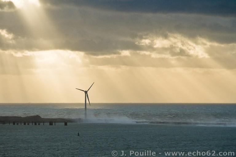 Tempête Joachim sur la côte d'Opale en décembre 2011-16