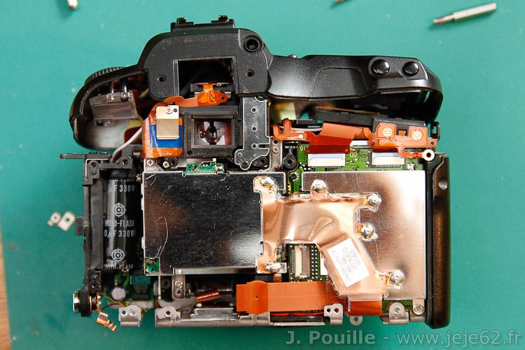 Conversion EOS D60 pour photo infrarouge