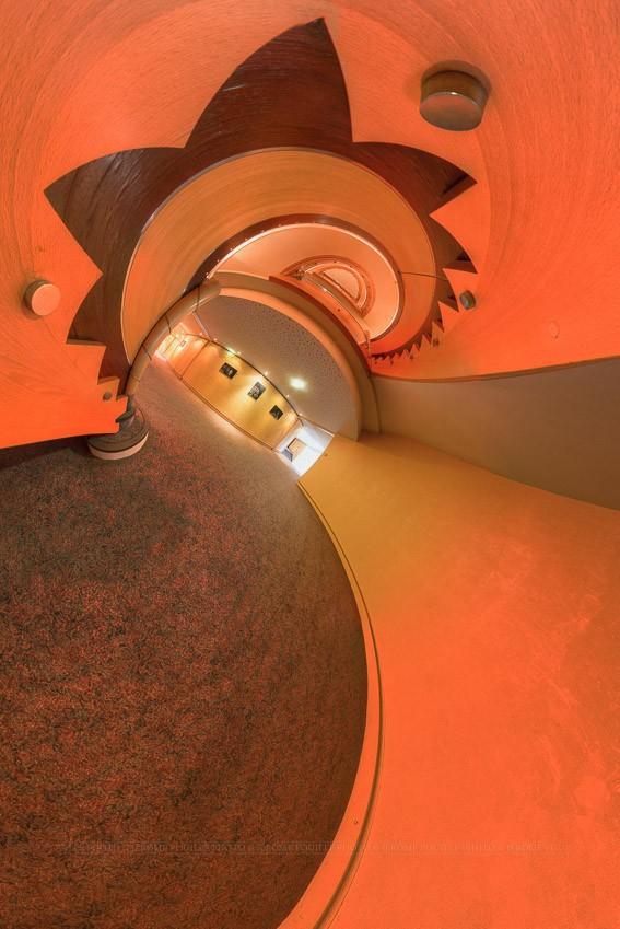 Petite planète du couloir du théâtre d'Angers