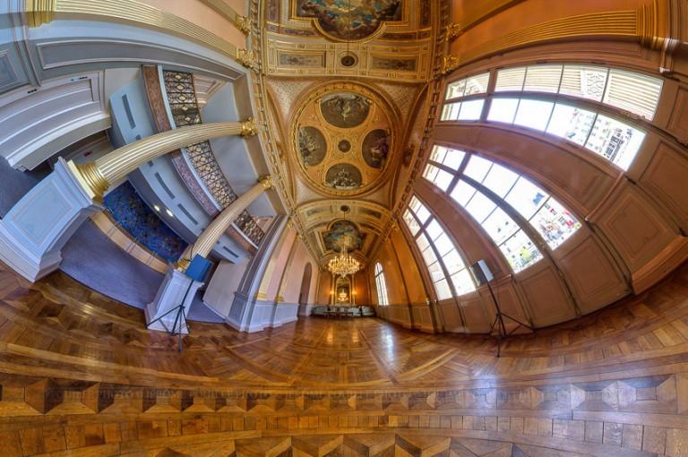 Petite planète de la salle du foyer du théâtre d'Angers