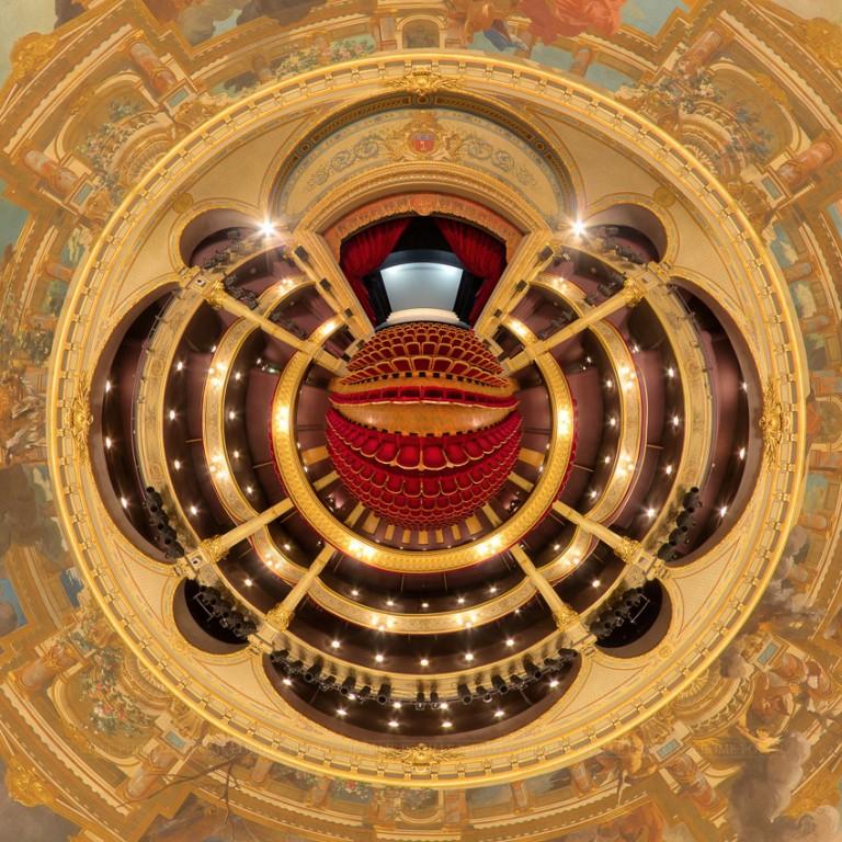 Petite planète de la salle du théâtre d'Angers