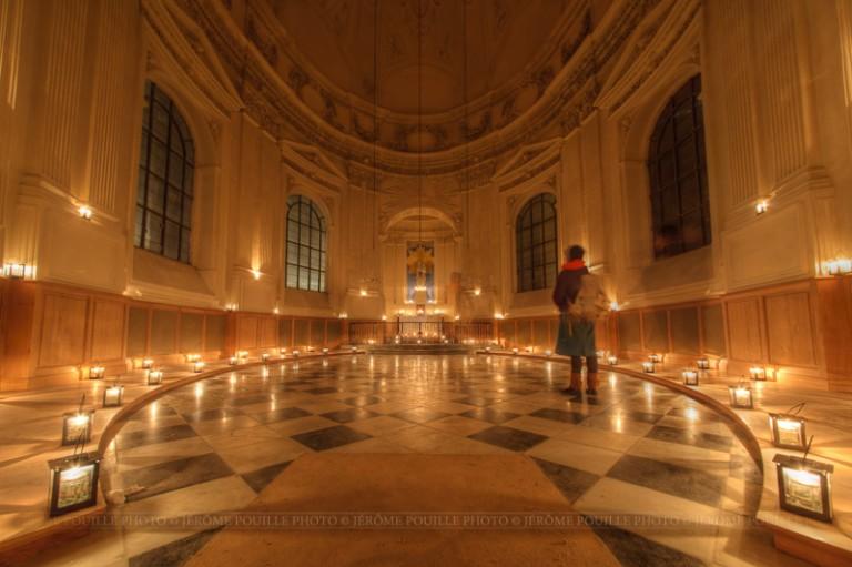 Illuminations 2013 de l'église Notre Dame de Calais
