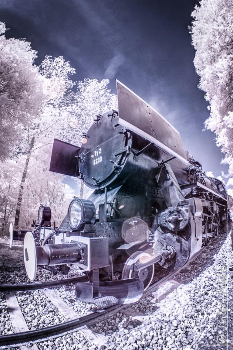 Train Touristique de la vallée de l'Aa infrarouge (1)