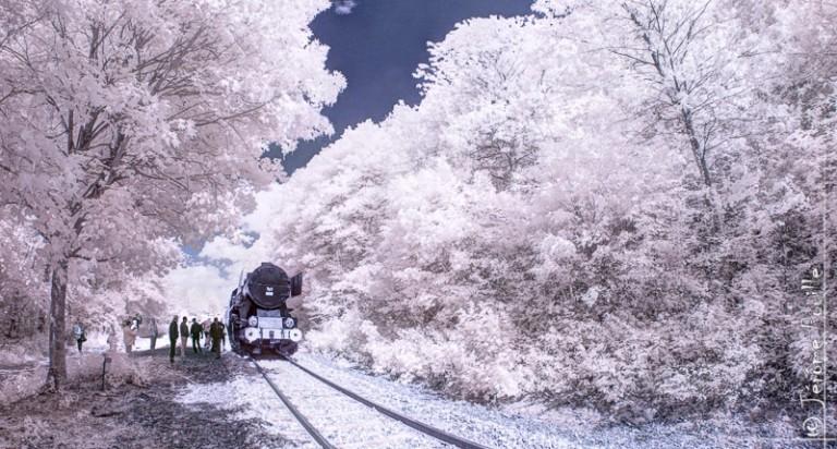 Train Touristique de la vallée de l'Aa infrarouge (2)