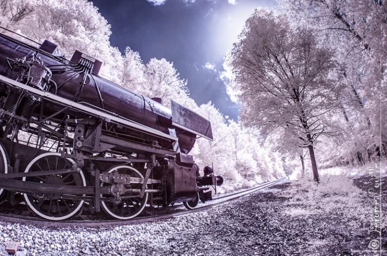 Train Touristique de la vallée de l'Aa infrarouge (3)