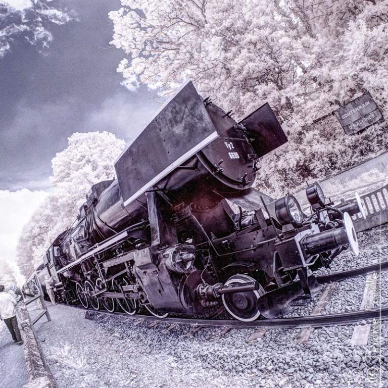 Train Touristique de la vallée de l'Aa infrarouge (4)