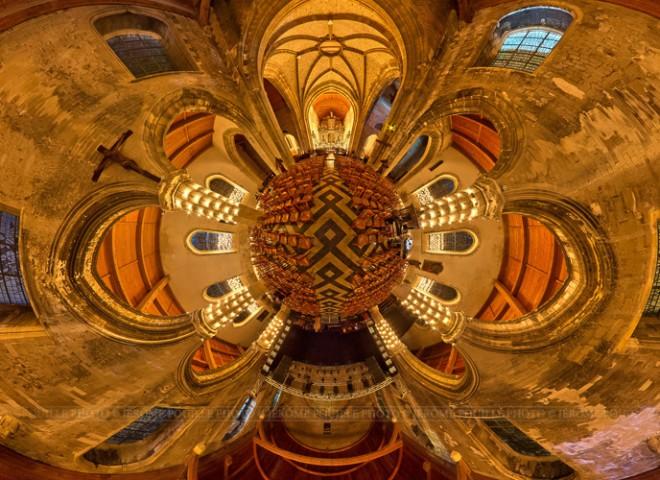 Illuminations de l'église Notre-Dame de Calais-2
