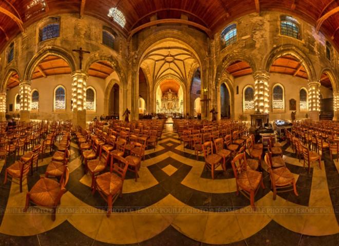 Illuminations de l'église Notre-Dame de Calais-3