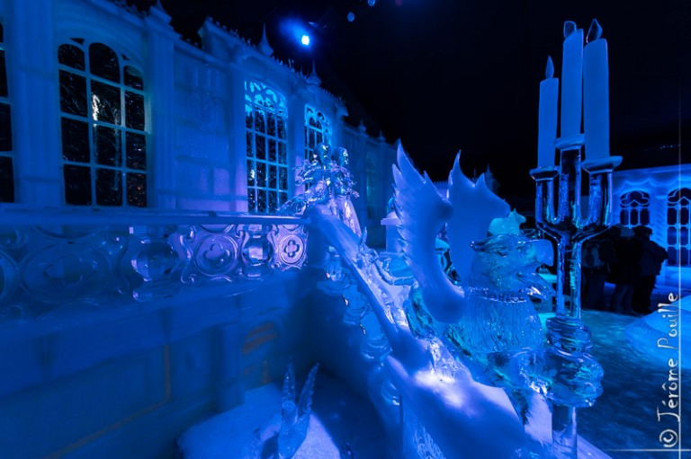 Sculptures de glaces de Bruges 2013