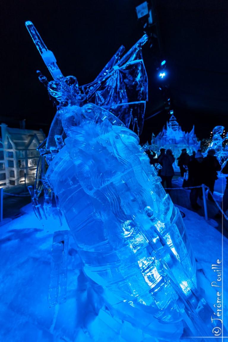 Sculptures de glaces de Bruges 2013